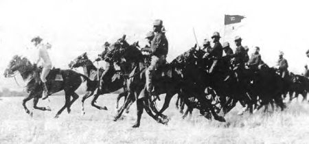 Buffalo Soldiers on Horseback